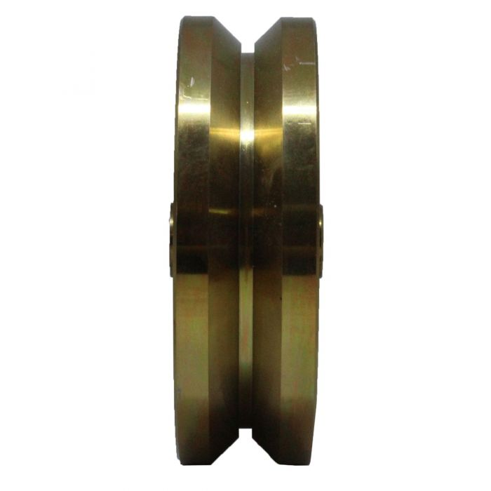 6 Inch Solid V-Groove Wheel | 04-528B