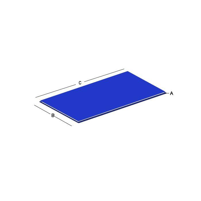 3003 Aluminum Plates - 0.188
