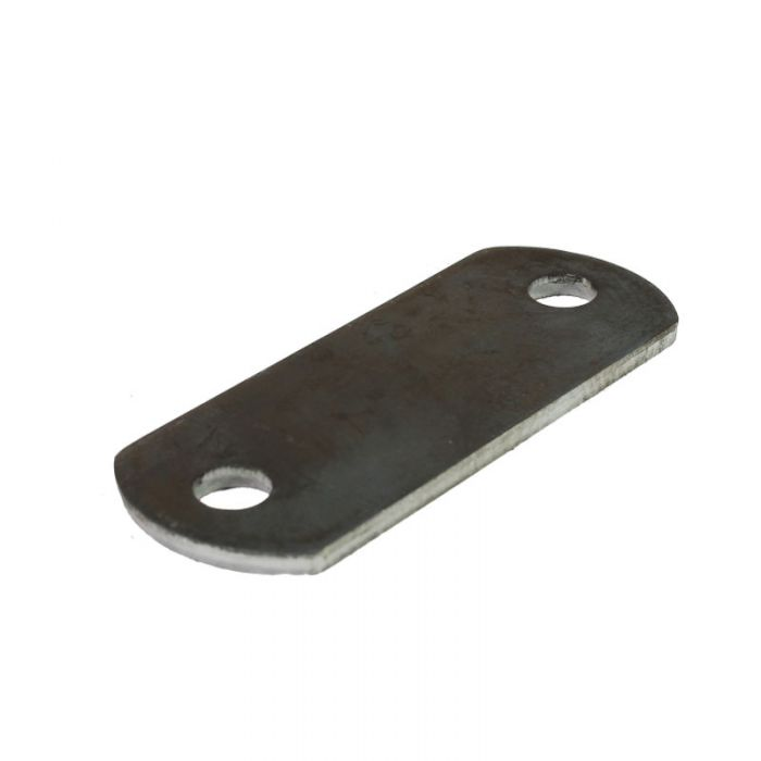 Oval Welding Tab - Two Hole Base Plate 1-1/2 x 3-7/8