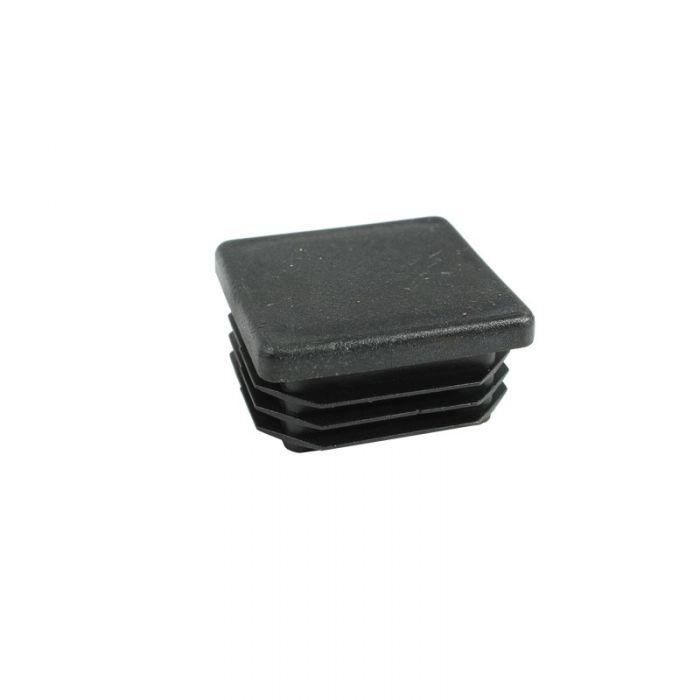 1-1/4 Inch Square Plastic Cap