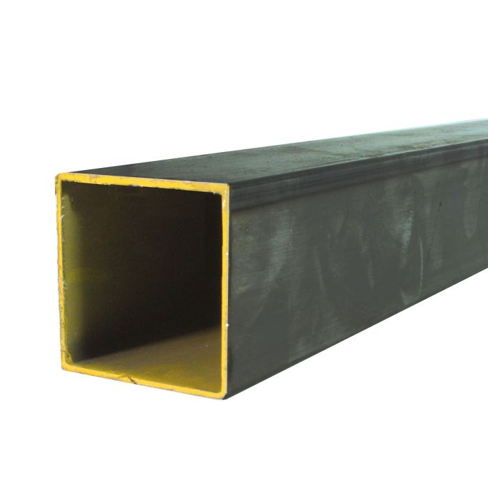 Hot Rolled Steel Square Tube - 3/4 Inch X 16GA