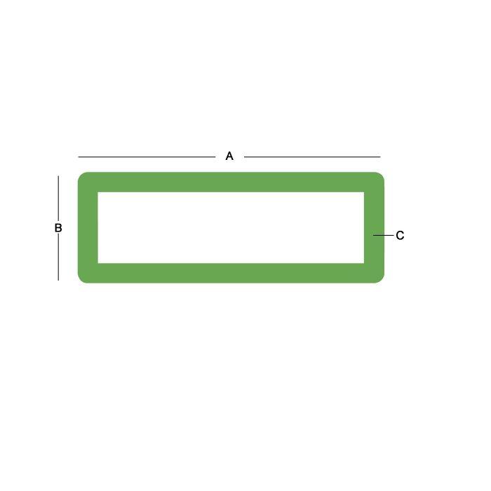 Stainless Steel Rectangular Tube 304 - 2