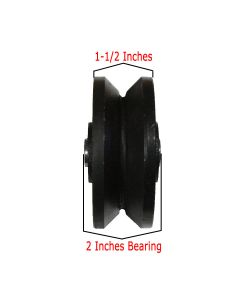 4 Inches V-Groove Wheel | 04-530