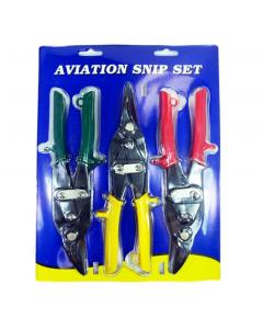 Aviation Snip Set (3Pcs)