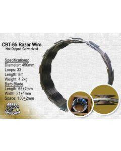 1 Coil Razor Wire