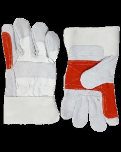 1 Dozen of Pair Working Double Palm Gloves