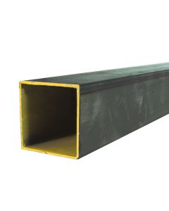 "Hot Rolled Steel Square Tube - 1/2"" X 0.065"