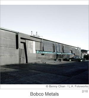 Bobco Metals Storefront on Alameda Street in Los Angeles